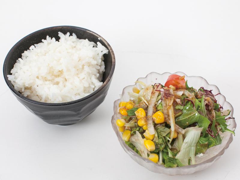 ご飯_サラダ